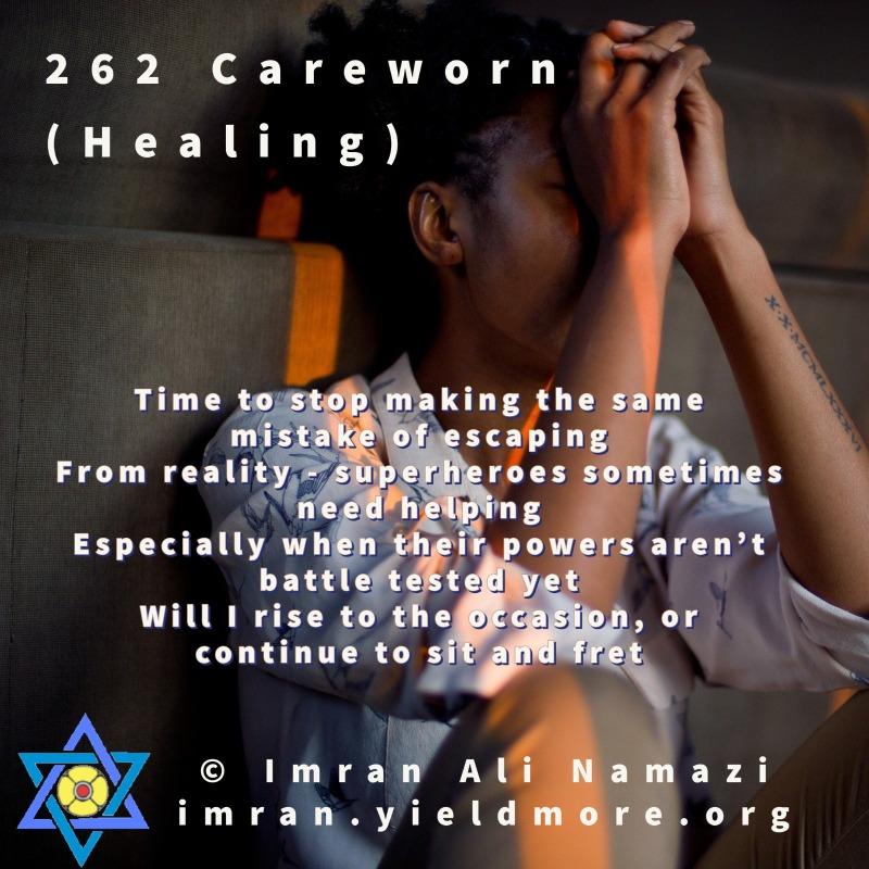 Careworn